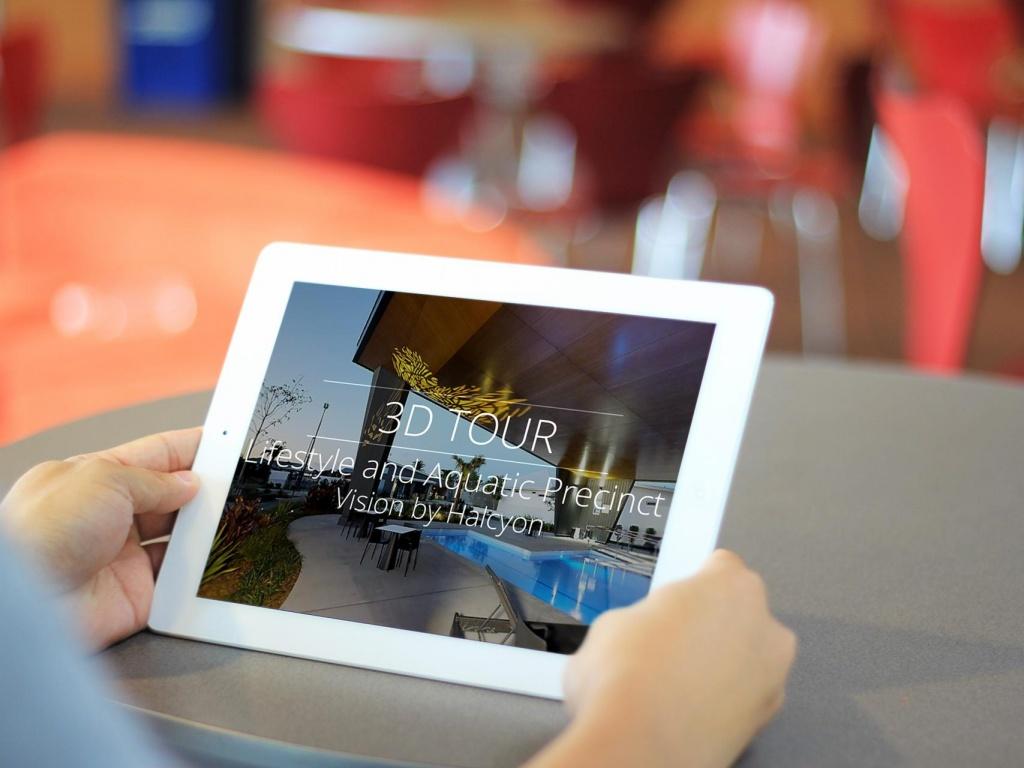 Matterport 3D Tour for Vision by Halcyon